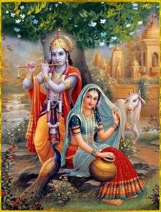 radhe krishna image