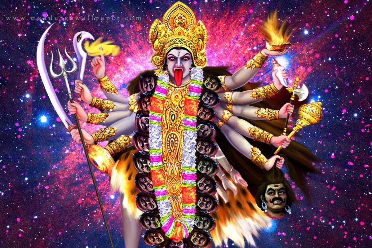 Hey Kali Hey Kalratri Hey Kaalo Ki Kaal -Lyrics By Rajni Anand