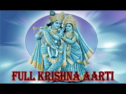 Full Krishna Aarti | Aarti Kunj Bihari Ki Shri Girdhar Krishna Murari Ki