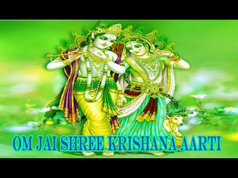 Popular Krishna Aarti | Aarti Kunj Bihari Ki Shree Girdhar Krishna Murari Ki