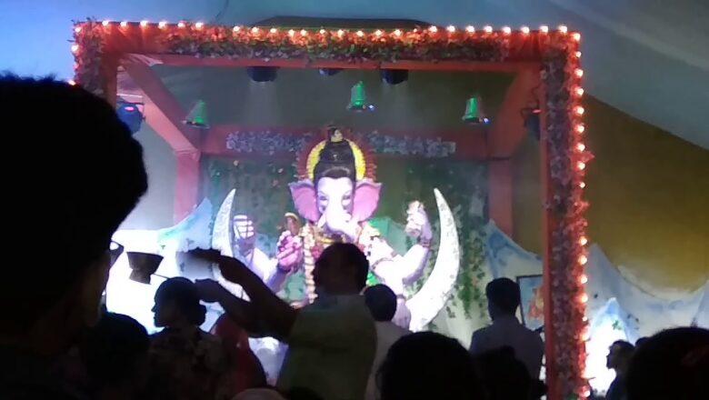 Ganpati Aarti   Shyam hills ka Raja #3rd day