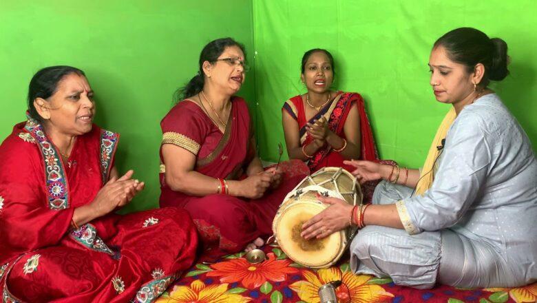 होठो पे लाली लाल हमारी राधा रानी के – Shri krishna bhajan   