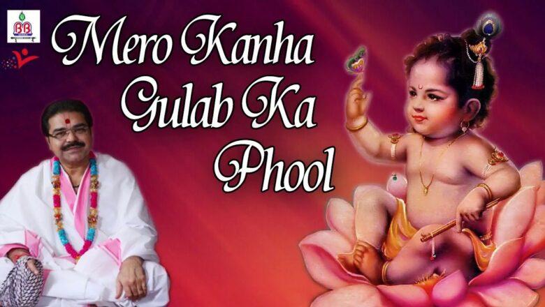 मेरो कान्हा गुलाब को फूल !! Latest Bhajan Of Krishna With Lyrics !! Mridul Krishna Shastri